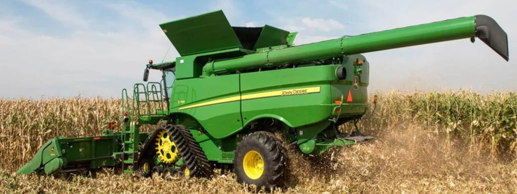 John Deere Harvester and Front-end Equipment ready to Harvest Profits